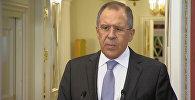 Не для того, чтобы кто-то нас похвалил – Лавров о выводе ВКС РФ из Сирии