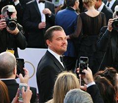 Актер Леонардо ди Каприо на церемонии вручения кинопремии Оскар. Архивное фото
