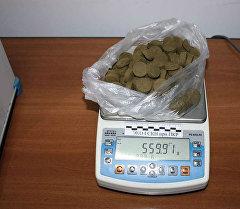 Найденные в форме спрессованных таблеток гашиш