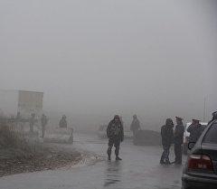 Ситуация на границе Кыргызстана с Узбекистаном в местности Могол Ала-Букинского района Джалал-Абадской области
