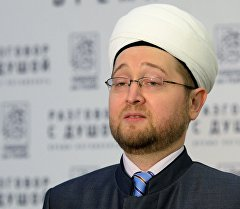 Россиянын муфтийлер кеңешинин төрагасы шейх Равил Гайнутдинов. Архив