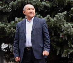 Кыргызстандагы бир топ ири жалпыга маалымдоо каражаттарын жетектеп келген Султан Жумагулов. Архив