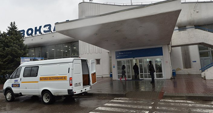 В аэропорту Ростова-на-Дону, где при посадке разбился пассажирский самолет Boeing-737-800.