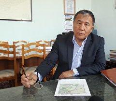 Спецпредставитель правительства Кыргызской Республики Курбанбай Искандаров. Архивное фото