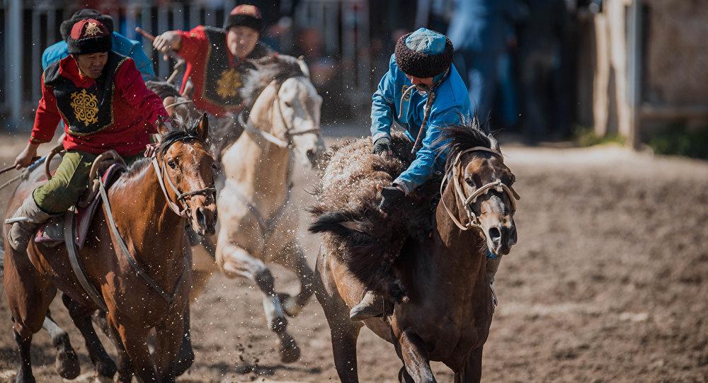 Игры кочевников: Казахстан лидирует всвоей группе покок-бору