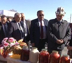 Өзбекстан, Тажикстандын атка минерлери Ноорузда Баткен элин куттуктап,