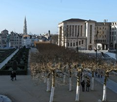 Брюссель шаары. Архивдик сүрөт