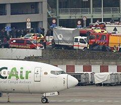 Взрывы в аэропорту Завентем недалеко от Брюсселя, Бельгия