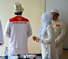 Ажылык сапарга барчу кыргызстандыктардын формасы. Архив