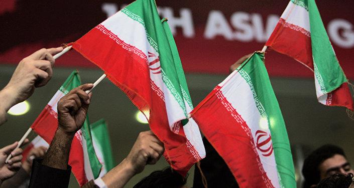 Иран мамлекетинин желеги. Архив