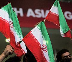 Государственный флаг Ирана. Архивное фото