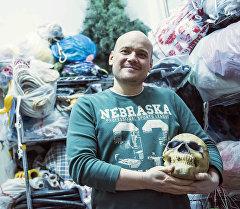 Бишкек шаарында майрамдык иш-чаралардын уюштуруучусу Егор Паньшиндин архивдик сүрөтү