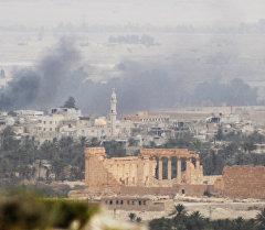Пальмира шаарындагы ураган эстеликтер. Архив