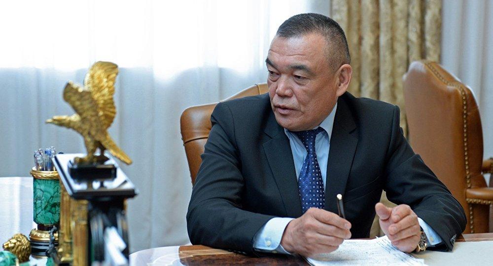 Мэр Джалал-Абада Салайдина Авазова