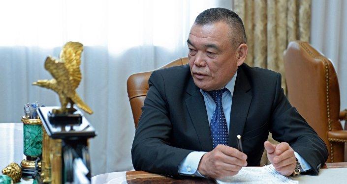 Мэр Джалал-Абада, а ранее гендиректор ЭС Салайдин Авазов