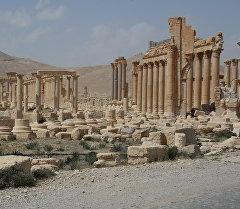 Байыркы Пальмира шаарындагы эстеликтер. Архив