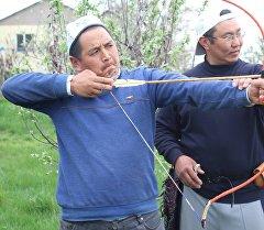 Соревнования по стрельбе из лука среди сотрудников муфтията и казыята
