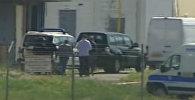 Кадры задержания захватчика египетского самолета А320 в аэропорту Ларнаки