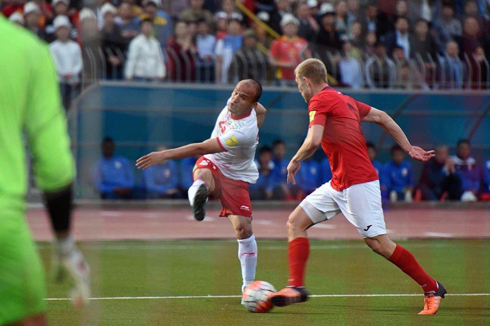 Кыргызстандык футболчулар жакшы коргоно алышты