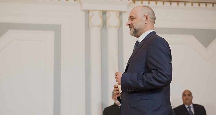 Чрезвычайный и Полномочный Посол Польши в КР Мачей Ланг
