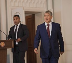 Архивное фото президентва Кыргызстана Алмазбека Атамбаева