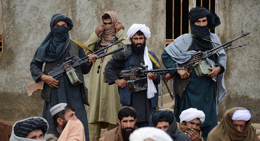 Радикалдык Талибан кыймылынын согушкерлери. Архивдик сүрөт