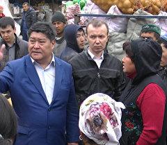 Бишкектин биринчи вице-мэри башаламан сооданы жөнгө салуу боюнча Ош ба