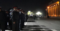 Бишкектин чок ортосундагы милициянын гарнизондук жыйыны — асмандан көр