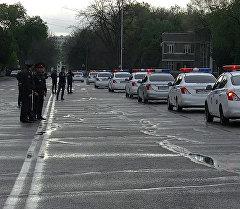 Новая форма и машины — в Бишкеке прошла презентация патрульной милиции