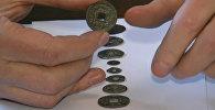 """О чем говорят ревние монеты из КР: от иероглифов до чеканки """"Аллах еди"""