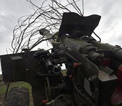 Карабах аймагындагы артиллерия. Архив