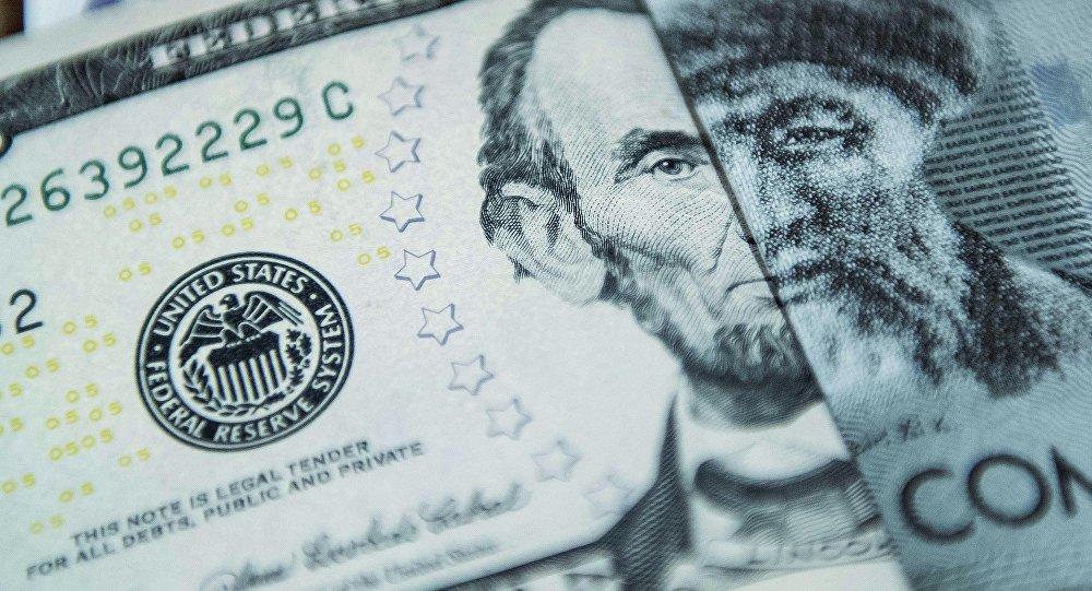 Сом жана доллар акчалары. Архивдик сүрөт
