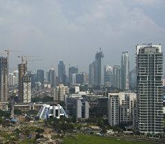 Джакарта шаары, Индонезия. Архив