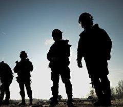 Бойцы спецназа. Архивное фото