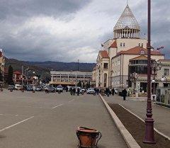 День пятый - мирное утро в Степанакерте