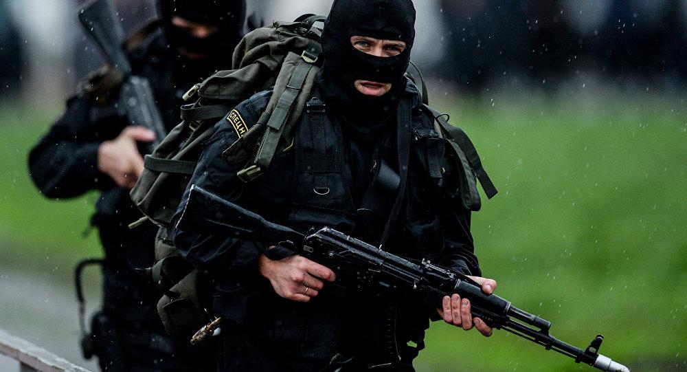 Российский спецназ. Архивное фото