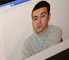 Снимок с сайта агентства Новости-Казахстан. Найденный в Атырау юноша Айбек Мухудинов. Архивное фото