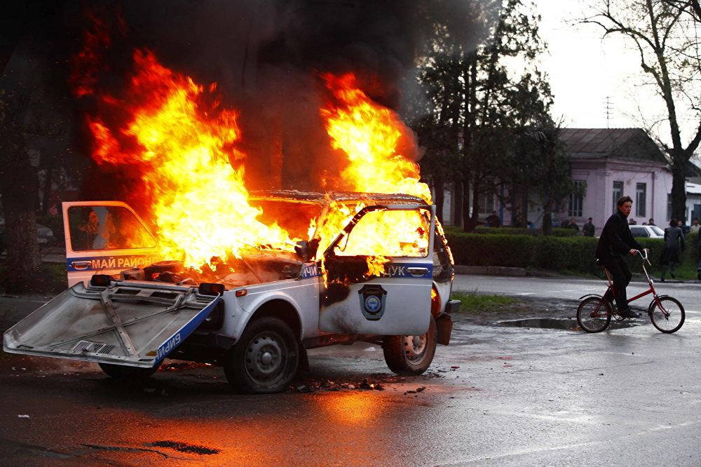 Ал күнү Бишкектин көп жеринде өрт чыкты