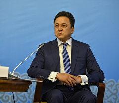 Президенттик аппараттын жетекчисинин биринчи орун басары Аалы Карашев. Архив