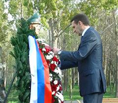 Спикер Госдумы РФ возложил венки к мемориалу жертв блокады Ленинграда
