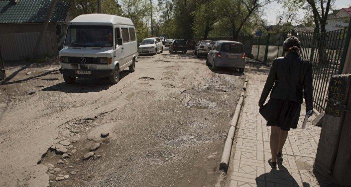 Бишкек жолдору. Архивдик сүрөт