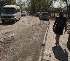 Бишкектин өлгөн көчөлөрү. Интерактивдүү картадагы сүрөт