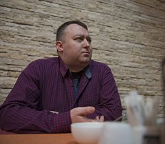 Арт–директор одного из ночных клубов Бишкека Андрей Царев. Архивное фото