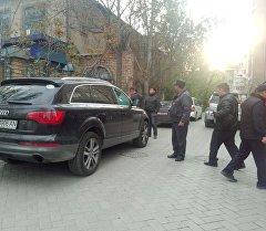 Бишкек шаарындагы Исанов-Чүй көчөлөрүнүн аймагында бутага алынган жер.