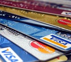 Банковские карты оплаты. Архивное фото