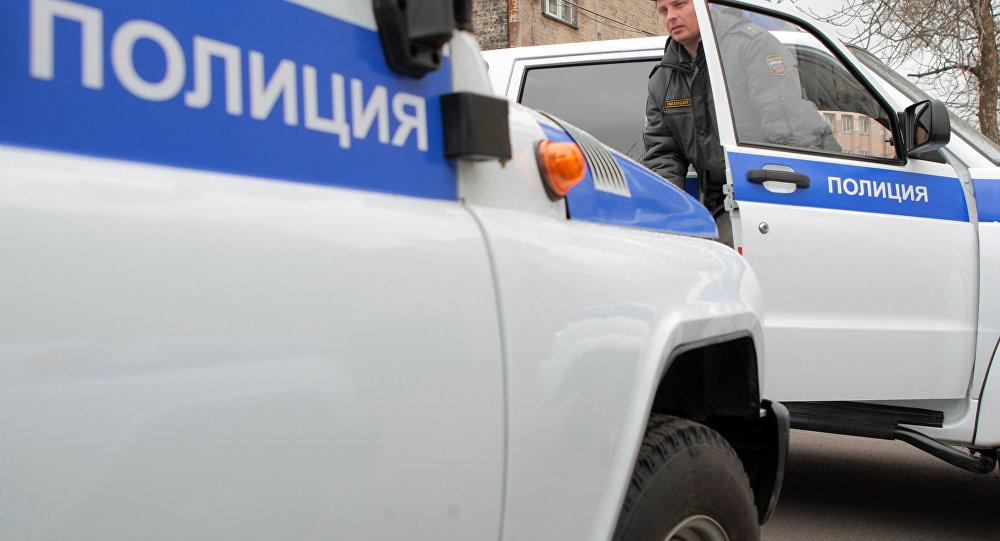 Сотрудник правоохранительных органов Санкт-Петербурга. Архивное фото