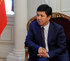 Бывший премьер-министр КР Темир Сариев. Архивное фото