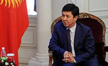 Экс-премьер-министр Темир Сариев. Архив