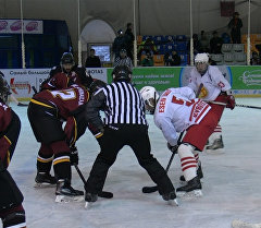 Хоккей боюнча турнир: кыргызстандыктардын катарлыктарды кантип жеңди