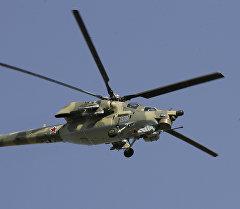 Ми-28Н тик учагы. Архив